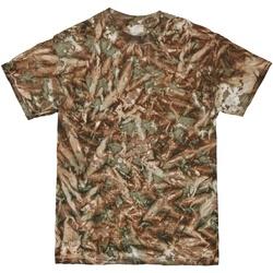 Textil Homem T-Shirt mangas curtas Colortone TD08M Camo