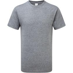 Textil Homem T-Shirt mangas curtas Gildan H000 Graphite Heather