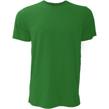 Textil Homem T-Shirt mangas curtas Bella + Canvas CA3001 Verde Floresta