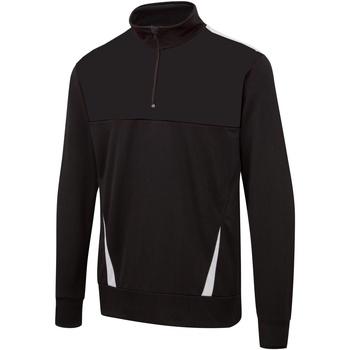 Textil Homem Sweats Surridge SU073 Preto / Branco / Branco