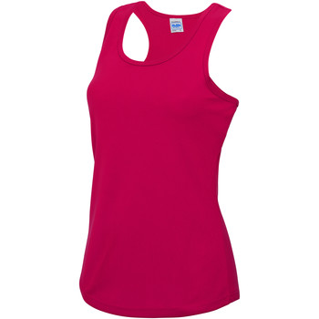 Textil Mulher Tops sem mangas Awdis JC015 Rosa Quente