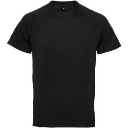 Textil Homem T-Shirt mangas curtas Tridri TR011 Preto
