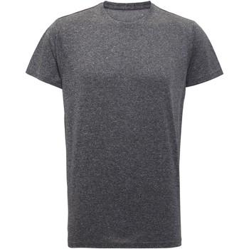 Textil Homem T-Shirt mangas curtas Tridri TR010 Melange preto