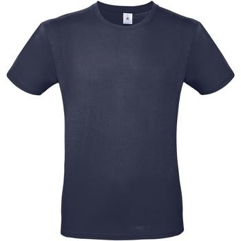 Textil Homem T-Shirt mangas curtas B And C TU01T Marinha Urbana