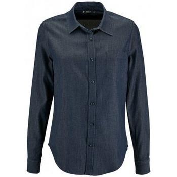 Textil Mulher camisas Sols Barry Denim Brut