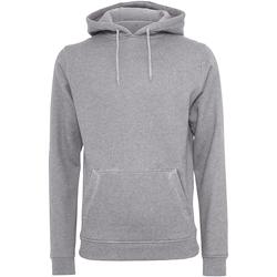 Textil Homem Sweats Build Your Brand BY011 Heather Grey