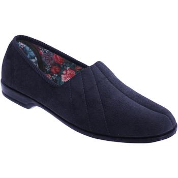 Sapatos Mulher Chinelos Sleepers Audrey Azul-marinho