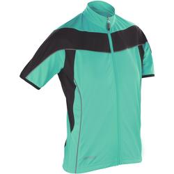 Textil Mulher Casaco polar Spiro S188F Aqua / Preto