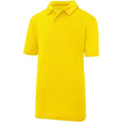 Textil Criança Polos mangas curta Awdis JC40J Sol Amarelo
