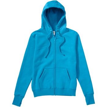 Textil Mulher Sweats Sg SG28F Turquesa