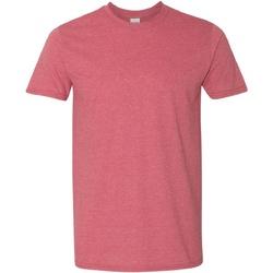 Textil Homem T-Shirt mangas curtas Gildan Soft-Style Cardeal Heather