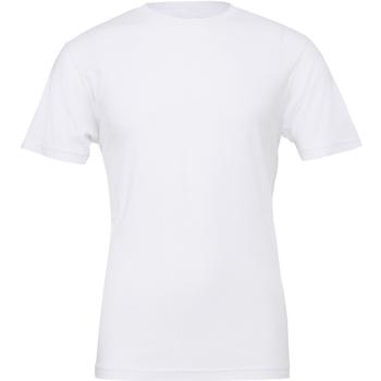 Textil Homem T-Shirt mangas curtas Bella + Canvas CA3001 Branco