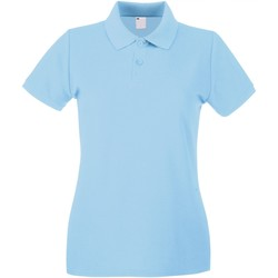 Textil Mulher Polos mangas curta Universal Textiles 63030 Azul claro