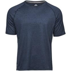 Textil Homem T-Shirt mangas curtas Tee Jays TJ7020 Marinha Melange