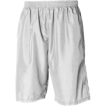 Textil Homem Shorts / Bermudas Tombo Teamsport Longline Branco / Branco