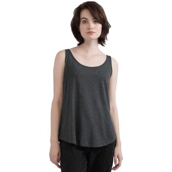Textil Mulher Tops sem mangas Mantis M92 Melange Cinza Carvão Vegetal