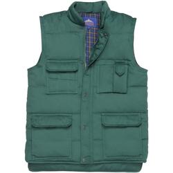 Textil Homem Casacos de malha Portwest Shetland Garrafa Verde