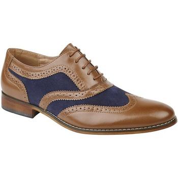 Sapatos Rapaz Richelieu Roamers  Tan/Navy