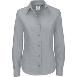 Textil Mulher camisas B And C SWO03 Lua de Prata