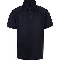 Textil Criança Polos mangas curta Finden & Hales LV372 Marinha/Navio