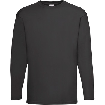 Textil Homem T-shirt mangas compridas Universal Textiles 61038 Jet Black
