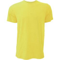 Textil Homem T-Shirt mangas curtas Bella + Canvas CA3001 Heather Yellow Gold