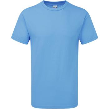 Textil Homem T-Shirt mangas curtas Gildan H000 Flo Blue
