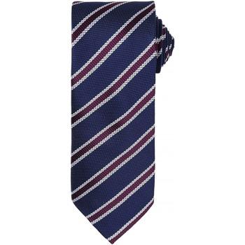 Textil Homem Gravatas e acessórios Premier  Marinha/Bubergine