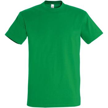 Textil Homem T-Shirt mangas curtas Sols 11500 Kelly Green