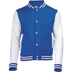 Textil Criança Jaquetas Awdis JH43J Royal Blue/White