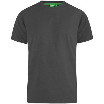 Textil Homem T-Shirt mangas curtas Duke  Melange Carvão Vegetal