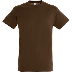 Textil Homem T-Shirt mangas curtas Sols 11380 Terra