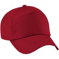 Acessórios Boné Beechfield B10 Vermelho clássico