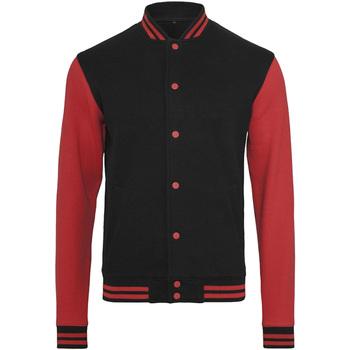Textil Homem Jaquetas Build Your Brand BY015 Preto