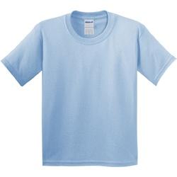 Textil Criança T-Shirt mangas curtas Gildan 64000B Azul claro