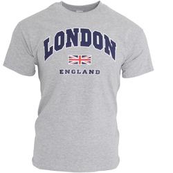 Textil Homem T-Shirt mangas curtas England  Sports Grey
