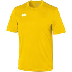 Textil Criança T-Shirt mangas curtas Lotto LT26B Amarelo/branco