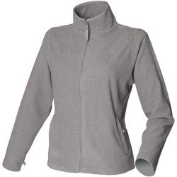 Textil Mulher Casaco polar Henbury HB851 Heather Grey