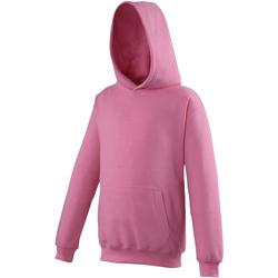Textil Criança Sweats Awdis JH01J Candyfloss Rosa