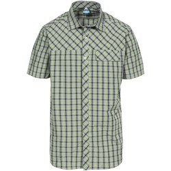 Textil Homem Camisas mangas curtas Trespass Juba Cedar Green Check