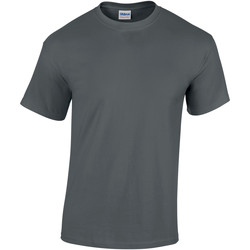 Textil Criança T-Shirt mangas curtas Gildan 5000B Carvão vegetal