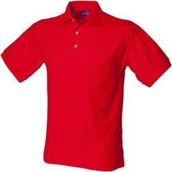 Textil Homem Polos mangas curta Henbury HB410 Vermelho clássico