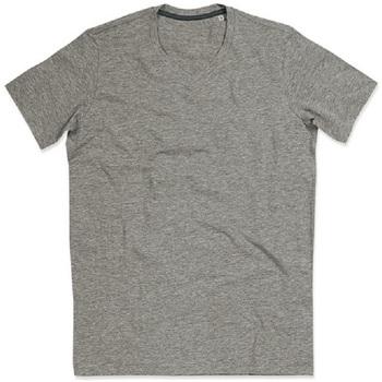 Textil Mulher T-Shirt mangas curtas Stedman Stars Claire Heather Grey