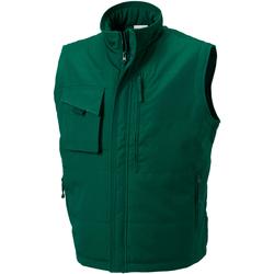 Textil Homem Casacos de malha Russell 014M Garrafa Verde
