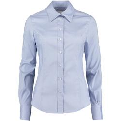 Textil Mulher camisas Kustom Kit KK702 Azul claro