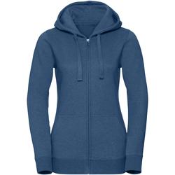 Textil Mulher Sweats Russell R263F Melange Oceânica