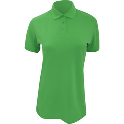 Textil Mulher Polos mangas curta Kustom Kit Klassic Verde maçã