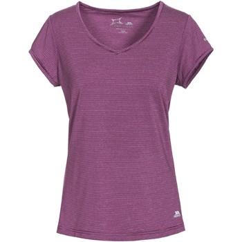 Textil Mulher T-Shirt mangas curtas Trespass Mirren Vinho da uva