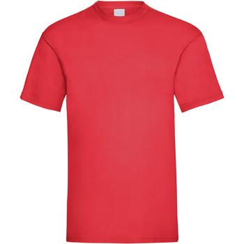 Textil Homem T-Shirt mangas curtas Universal Textiles 61036 Vermelho Brilhante