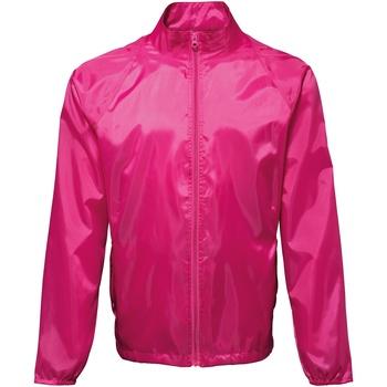 Textil Homem Corta vento 2786 TS010 Rosa Quente